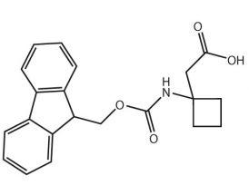 (Fmoc-NH-cyclobutyl)acetic acid