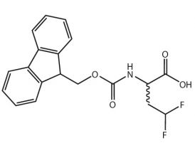 Fmoc-2-amino-4,4-difluoro-butyric acid (rac)