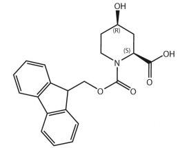 Fmoc-L-Pip(4-OH)-OH (SR)