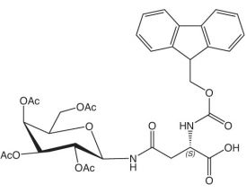 Fmoc-L-Asn(GalAc4)-OH