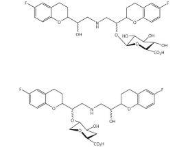 Nebivolol-O-glucuronide (mixture of 2 and 4 diasteromers)