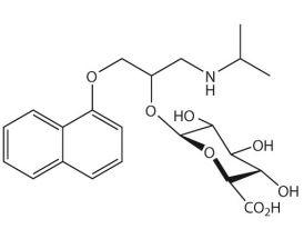 Propranolol-O-beta-D-glucuronide