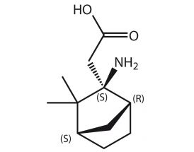 (Amino-3,3-Me2-BChept-2-yl)acetic acid (R,S,S)
