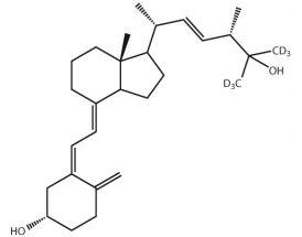 25-Hydroxy-Vitamin D2-(26,26,26,27,27,27-d6)