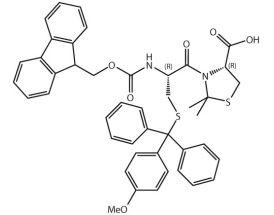 Fmoc-L-Cys(Mmt)-L-Cys[PSI(Me,Me)Pro]-OH