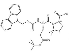 Fmoc-L-Glu(tBu)-L-Cys[PSI(Me,Me)Pro]-OH
