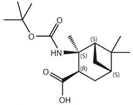 Boc-NH-2,6,6-Me3-BCheptane-COOH (S,S,R,S)