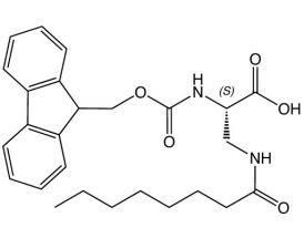 Fmoc-L-Dap(Octanoyl)-OH