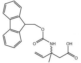 3-(Fmoc-NH)-3-Me-pent-4-enoic acid