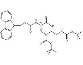 Fmoc-L-Dap(Boc,2-Boc-aminoethyl)-OH