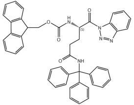 Fmoc-L-Gln(Trt)-Bt