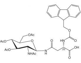 Fmoc-L-Asn(GlcNAc4)-OH