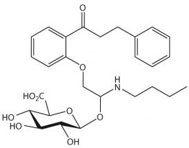 Propafenone-O-beta-D-glucuronide