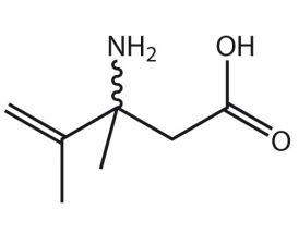 3-NH2-3,4-Me2-pent-4-enoic acid