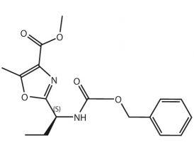 2-[Z-L-Abu]-5-methyl-1,3-oxazole-4-COOMe