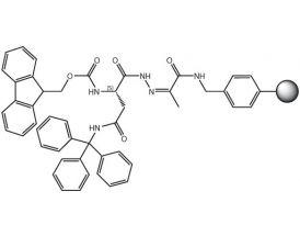 Fmoc-L-Asn(Trt)-NHN=Pyv Resin