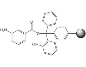 3-Aminobenzoic acid-2CT Resin