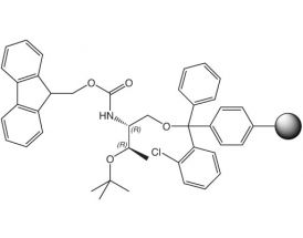 Fmoc-L-Thr(tBu)-ol-2CT Resin